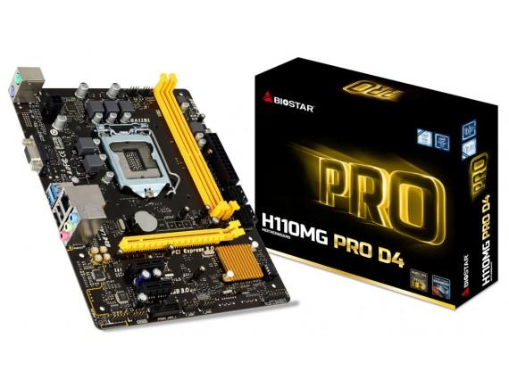 Biostar H110MG Pro D4 LGA 1151
