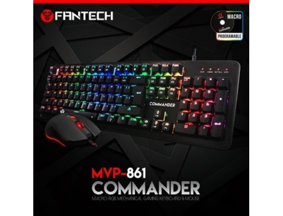 Fantech MVP 861 Mouse and Keyboard Gaming Combo