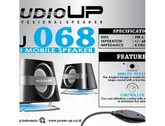 speaker komputer/hp AUDIO UP AU 068