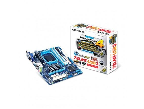 Gigabyte AMD GA78LMT-S2P AMD AM3+ (DDR3)