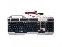 Marvo Keyboard K611 Rainbow Backlight, Metal Panel, Anti Ghosting
