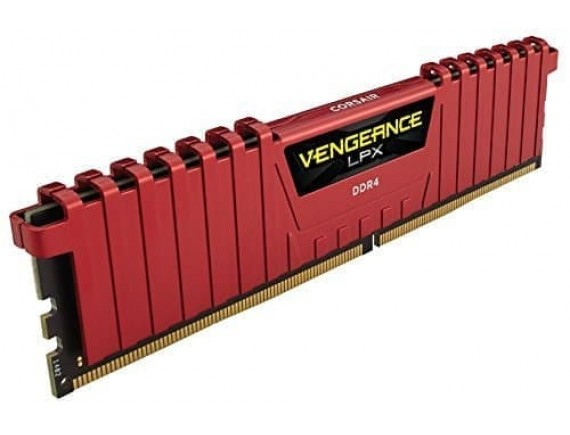 Corsair DDR4 Vengeance LPX 1x8GB RED CMK8GX4M1A2400C14R