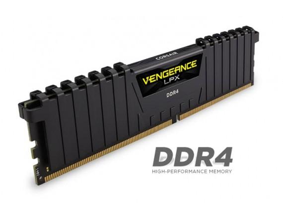 Corsair DDR4 Vengeance LPX 1x4GB RED 2400Mhz - CMK4GX4M1A2400C14R