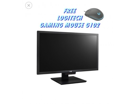 Monitor LG 24GM79G 144hz (Bonus Gaming Mouse G102)