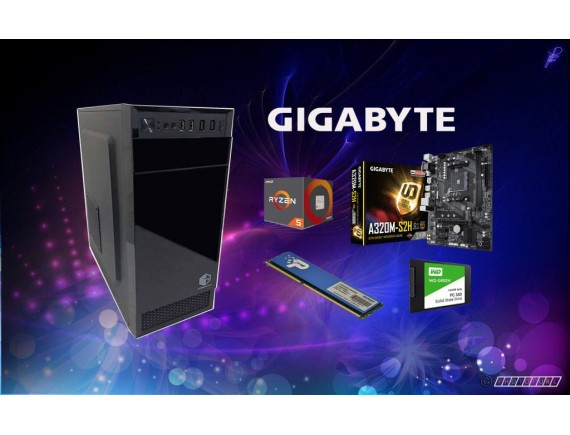 Paket Promo CPU AMD RyzenTM 5 2400G With Radeon Vega11 8GB SSD120