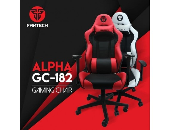 Fantech Alpha GC-182 Gaming Chair - Red Black