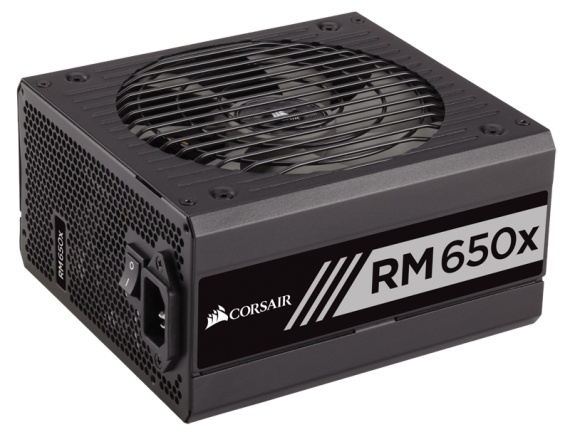 Corsair PSU Fully Modular RM650x W SERIES 80Plus Gold