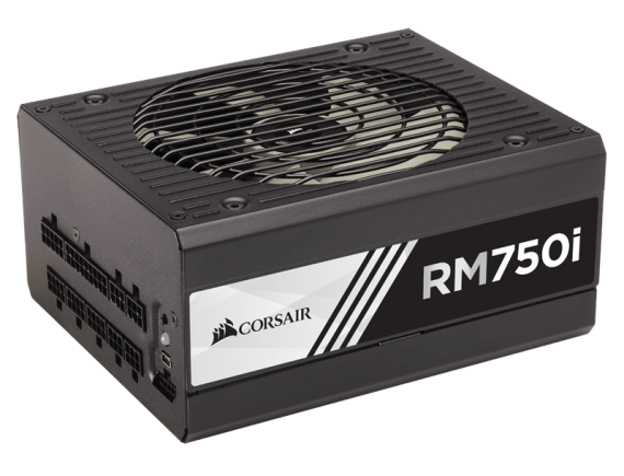 Corsair PSU Fully Modular Series RM750i W  80Plus Gold