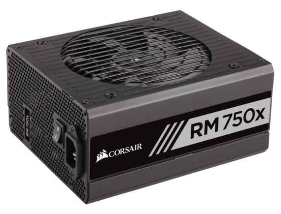 Corsair PSU Fully Modular RM750x W SERIES 80Plus Gold