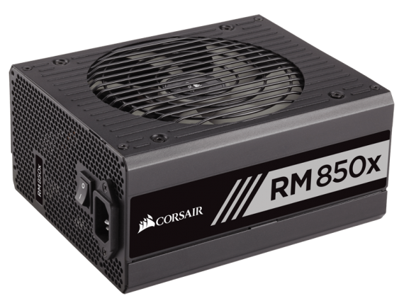 Corsair PSU Fully Modular Series RM850x W 80Plus Gold
