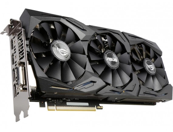 Asus Strix GTX1070 OC 8 GB DDR5