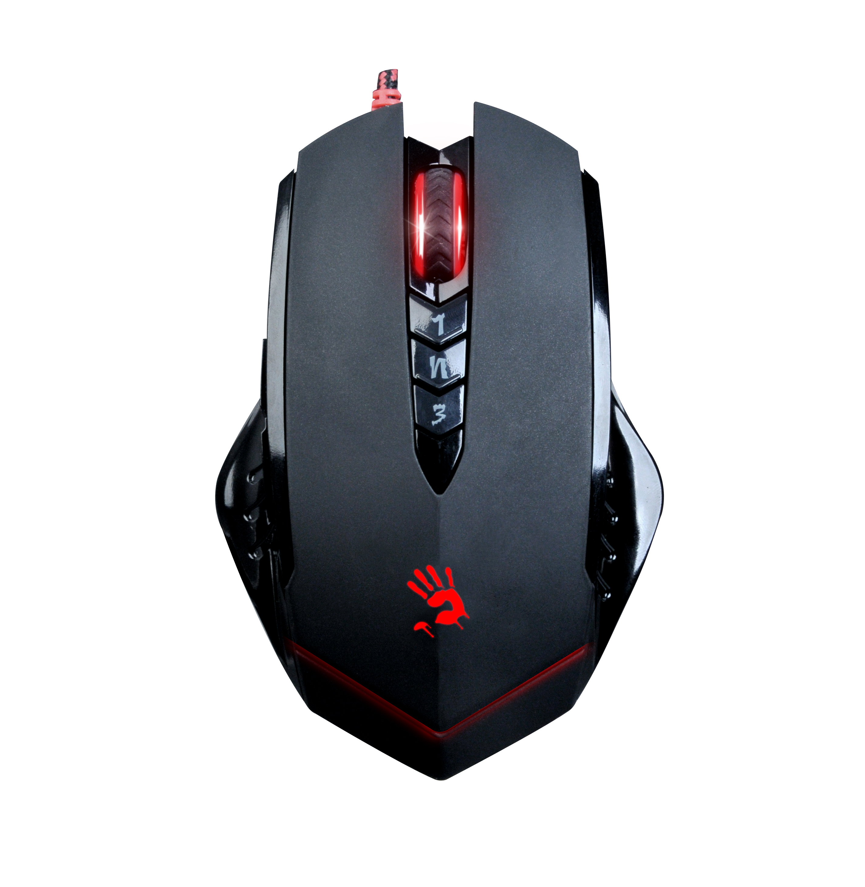 Mouse Gaming Gear Dell Usb Branded Hitam Bloody Macro V8